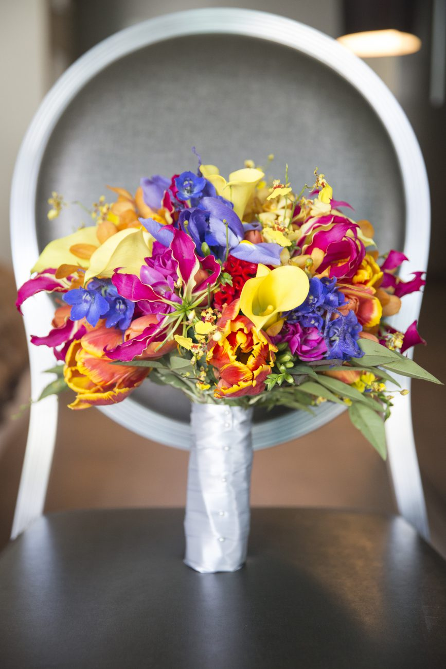 bouquet SLS Hotel Beverly Hills Wedding Sassy Girl Weddings & Events Los Angeles & Orange County Wedding Planner and Wedding Planning
